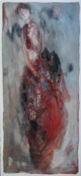 femme sereine  (60x130)