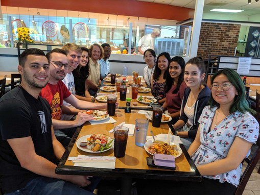 Aline's Farewell Lunch