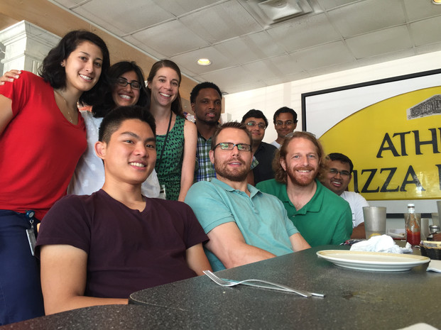 Lab Lunch at Athens Pizza.JPG