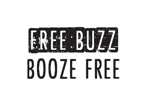 Free Buzz Booze Free Unisex Hoodie