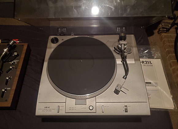 AKAI Turntable & Amplifier
