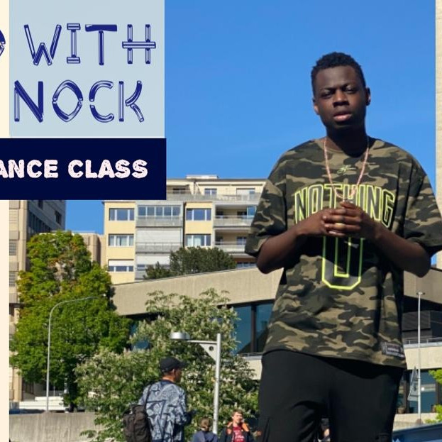 Online Afro Dance Class with Neck Nock