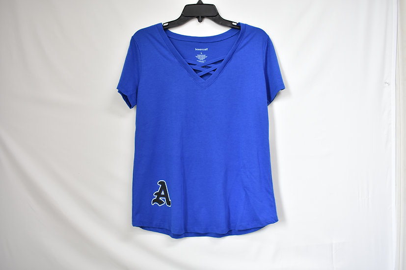 AHS Caged Front Tee