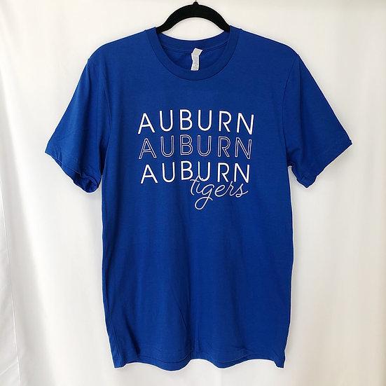 Auburn Stack Tee