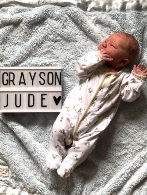 Rebecca and Baby Grayson