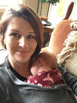 Tiffany and baby Amelia