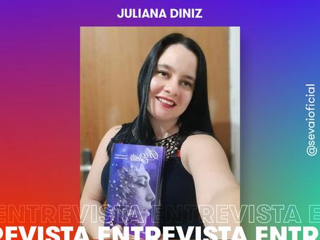 Entrevista com a autora Juliana Diniz