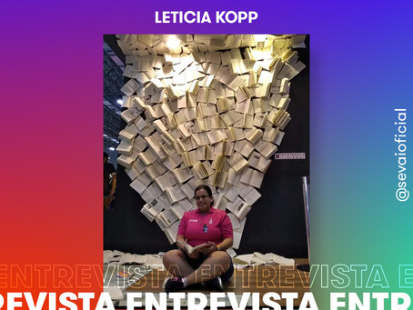 Entrevista com a autora Letícia Kopp