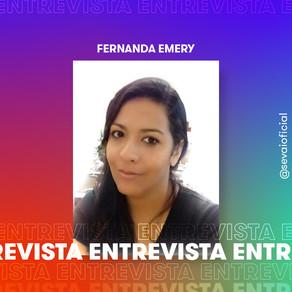 Entrevista com a autora Fernanda Emery
