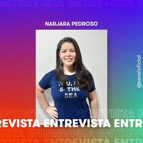 Entrevista com a autora Narjara Pedroso