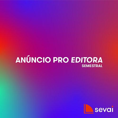 Anúncio PRO EDITORA - Semestral