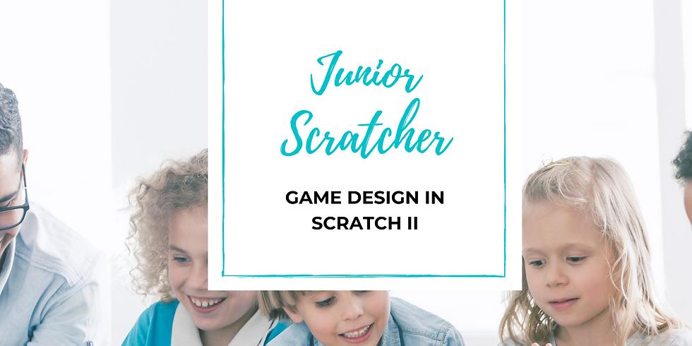 Junior Scratcher - Game Development in Scratch II