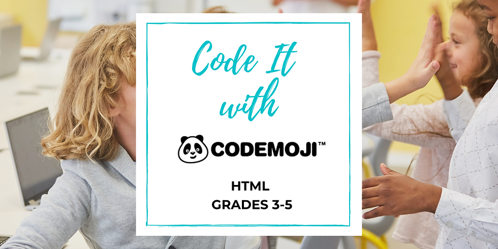 Code it with Codemoji - HTML (Thursday)