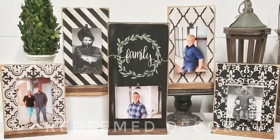Tabletop Picture Frames
