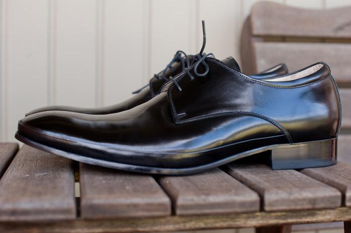 Patent Leather Men Shoes