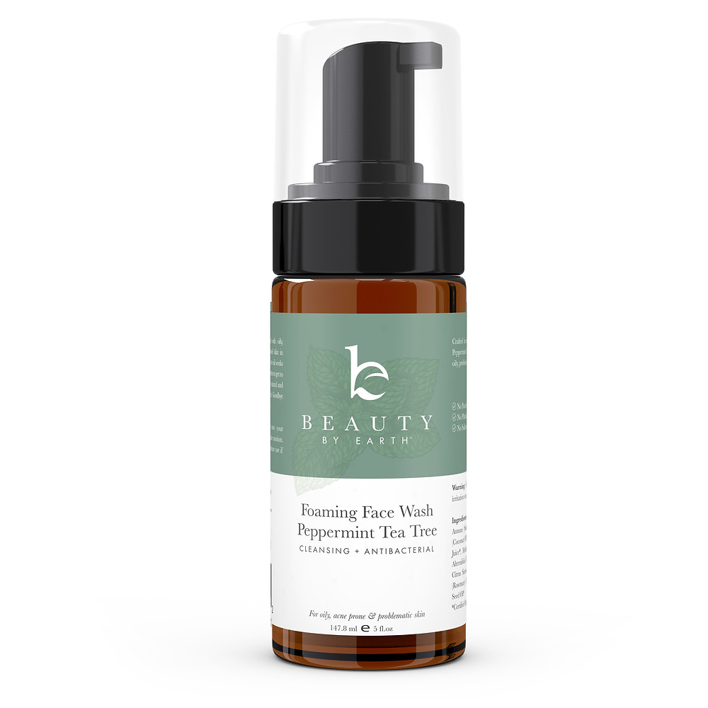 Peppermint Tea Tree Cleanser by Beauty by Earth