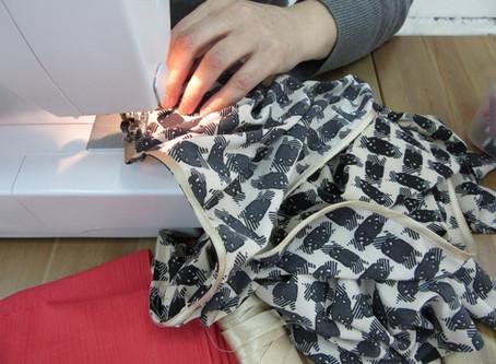 Безнамёточная технология шитья. Как шить без намётки?