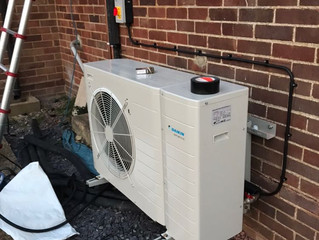 Air Source Heat Pump Project!