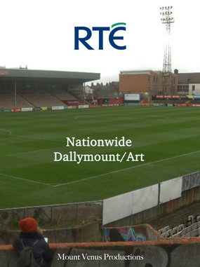 Artist Dorothy Smith creates a hand drawn map of Dalymount