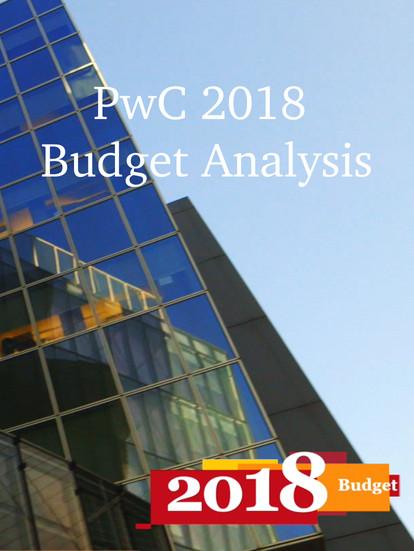 Pwc Budget 2018