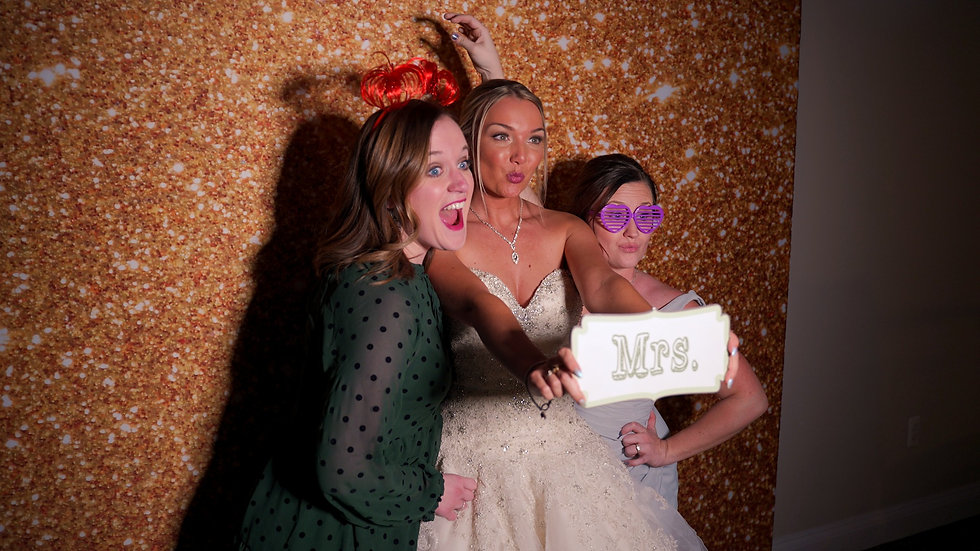 bride photo booth