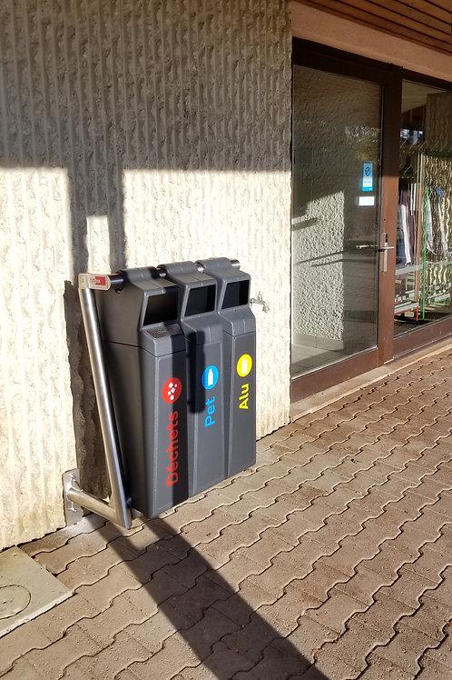 Configurez votre poubelle de tri