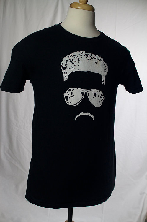 Chapmen Face Logo (Black)
