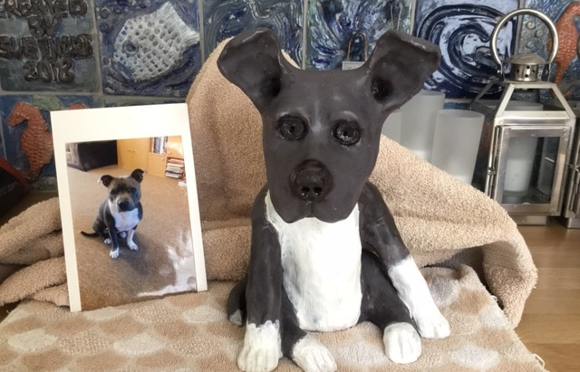 All about my dog sculptures