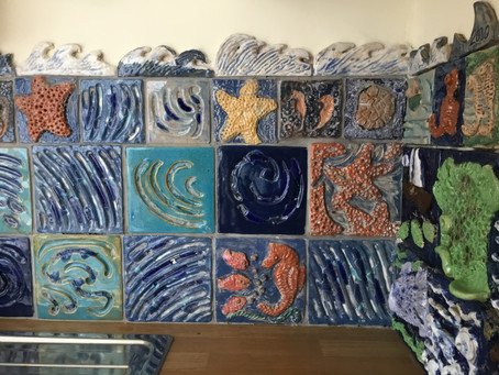 """""""I think I'll make a few tiles for the utility room wall."""""""