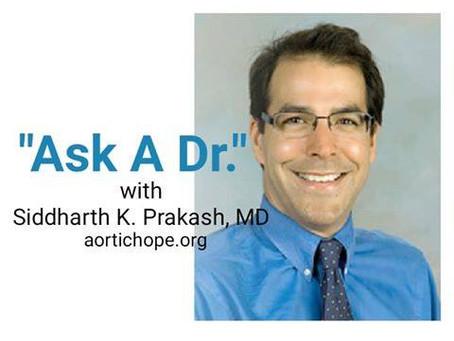 Ask A Dr. Event November 15th 6:30pm EST
