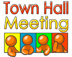 It's Town Hall Thursday March 23rd at 6pm!