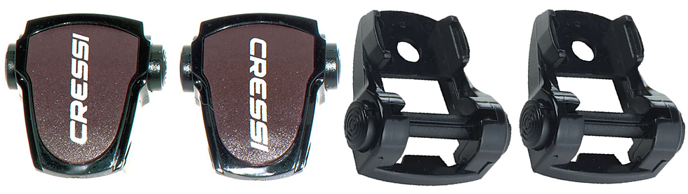 Cressi Buckles for F1 Frameless Mask