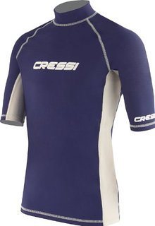 Cressi Short Sleeve Rash Guard - Blue Men's