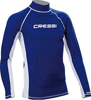 Cressi Long Sleeve Rash Guard - Blue Men's