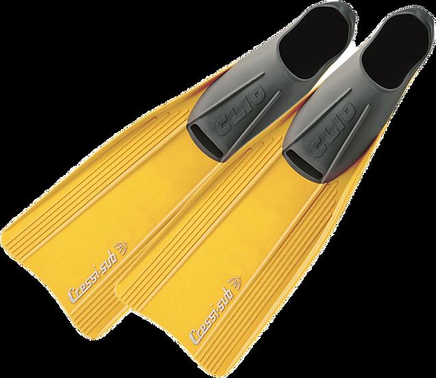 Cressi Clio Fins (Blue, Yellow or Black)