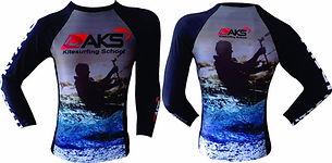 Camisa de lycra kitesurf