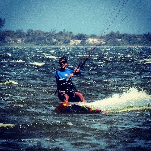 AKS merlhor lugar para praticar Kite