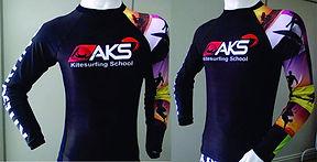 Camisa de lycra para kitesurf