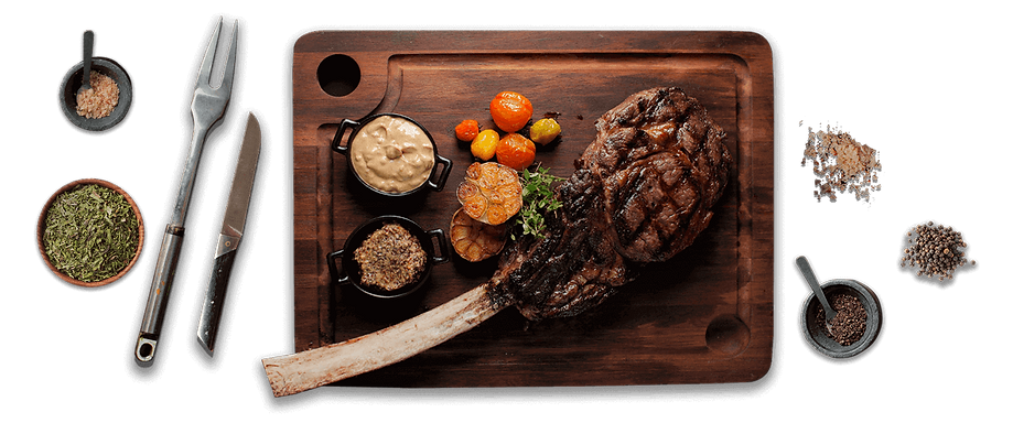 Raging Bull Tomahawk Steak