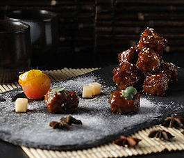 canton road, cantonese, huaiyang, chinese cuisine, chinese food, pork, ribs, Jiangnan style, sweet, sour, sweet and sour, shang, shangrila, shangri-la, the fort, bgc, manila, stylized, presentation, signature dish, Wei Qing Wang