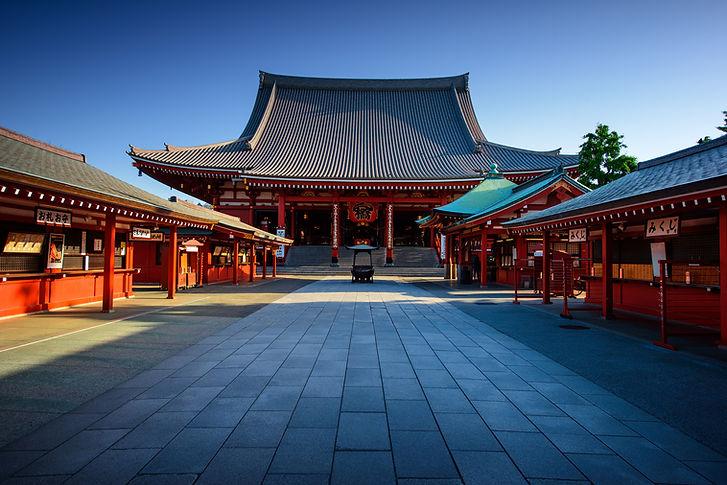 Tokyo City - Sensoji-ji Temple - Asakusa