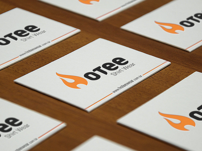 HOTEE - Perspective Business Cards MockU