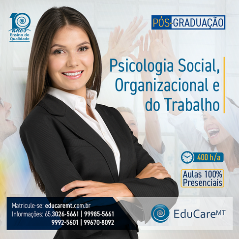 PÓS----Psicologia-Social-,-Organizaciona