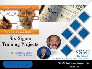 Six Sigma Training Projects