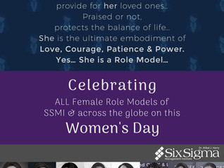 "SSMI Celebrates ""International Women's Day"""