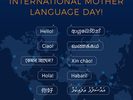 "SSMI Global Family celebrates ""International Mother Language Day!""..."