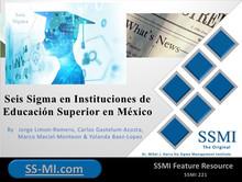 Seis Sigma en Instituciones de Educación Superior en México