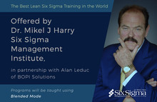 SSMI U.S. to Commence Lean Six Sigma Blended Training