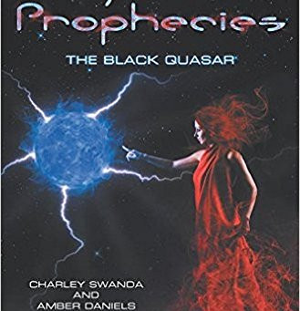 """The Asgardian Prophecies: The Black Quasar"" by Amber Daniels & Charley Swanda  - IHIBRP 5-Star"