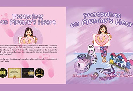 """Footprints on Mommy's Heart"" by Mary Ann Vitale - IHIBRP 4-Star Book Review"